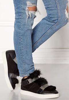 SOFIE SCHNOOR Boot With Fur Black Bubbleroom.dk