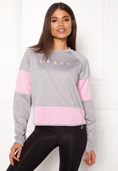 Craft Breakaway Jersey Sweater Grey Melange Bubbleroom.dk