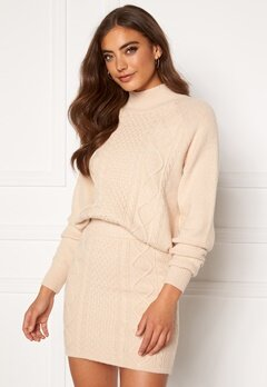 BUBBLEROOM Aisha knitted sweater Cream Bubbleroom.dk