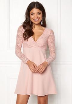 BUBBLEROOM Alma Dress Dusty pink Bubbleroom.dk