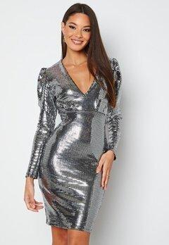 BUBBLEROOM Amorette Dress Silver bubbleroom.dk