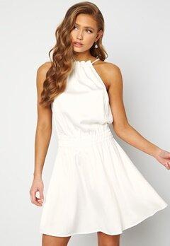 BUBBLEROOM Anya High Neck Dress White Bubbleroom.dk