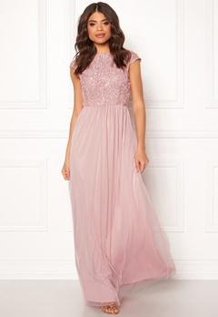 BUBBLEROOM Ariella prom dress Dusty pink Bubbleroom.dk