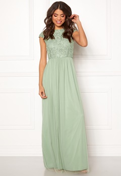 BUBBLEROOM Ariella prom dress Light green Bubbleroom.dk