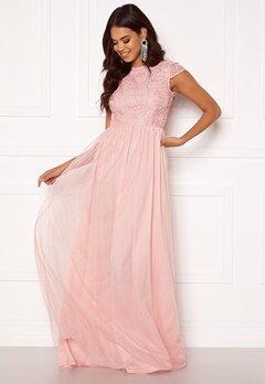 BUBBLEROOM Ariella prom dress Light pink Bubbleroom.dk