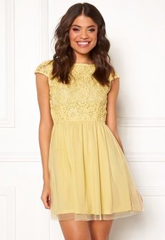 BUBBLEROOM Ayla dress Light yellow Bubbleroom.dk