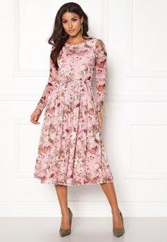 BUBBLEROOM Bella mesh dress Pink / Floral Bubbleroom.dk