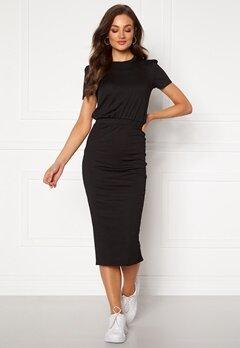BUBBLEROOM Besa short sleeve dress Black Bubbleroom.dk
