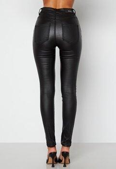 BUBBLEROOM Bianca coated jeans Black bubbleroom.dk