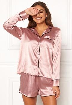 BUBBLEROOM Brenda pyjama set Dusty pink Bubbleroom.dk