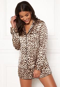 BUBBLEROOM Brenda pyjama set Leopard Bubbleroom.dk
