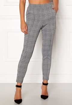 BUBBLEROOM Brienne trousers Grey / Checked Bubbleroom.dk
