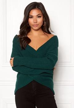 BUBBLEROOM Brixia knitted sweater Dark green Bubbleroom.dk