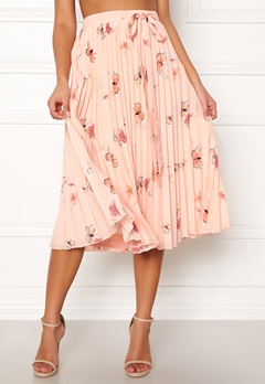 BUBBLEROOM Carolina Gynning Butterfly skirt Light pink / Patterned Bubbleroom.dk
