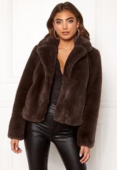 BUBBLEROOM Claudia faux fur jacket  Bubbleroom.dk