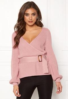 BUBBLEROOM Delilah knitted sweater Dusty pink Bubbleroom.dk