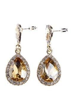 BUBBLEROOM Drops crystal earring Gold Bubbleroom.dk