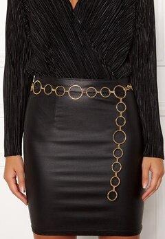 BUBBLEROOM Ella chain belt Gold Bubbleroom.dk