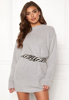 BUBBLEROOM Elsie knitted sweater Grey Bubbleroom.dk