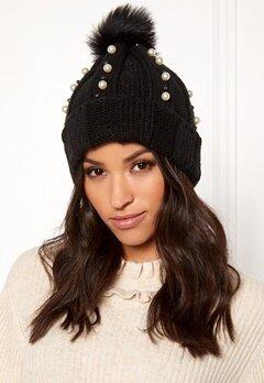 BUBBLEROOM Emma Pearl Hat Black Bubbleroom.dk