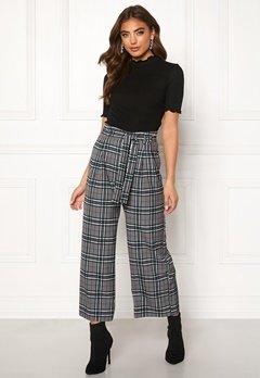BUBBLEROOM Felicia trousers Grey / Checked Bubbleroom.dk