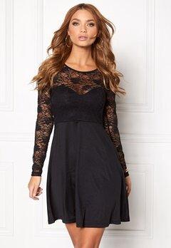 BUBBLEROOM Grace lace dress Black Bubbleroom.dk