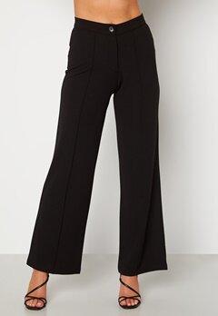BUBBLEROOM Hilma soft suit trousers Black bubbleroom.dk