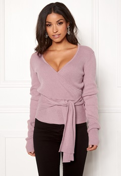 BUBBLEROOM Ines knitted sweater Dusty pink Bubbleroom.dk