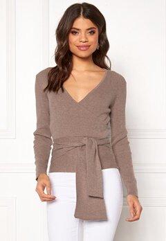 BUBBLEROOM Ines knitted sweater Nougat Bubbleroom.dk