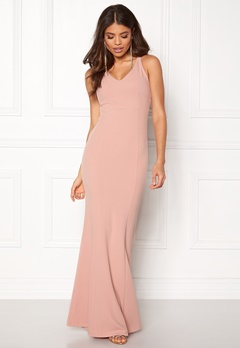 BUBBLEROOM Jaylin prom dress Dusty pink Bubbleroom.dk