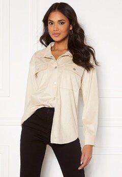 BUBBLEROOM Jila oversized shirt  Offwhite Bubbleroom.dk