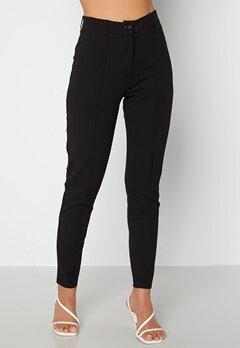 BUBBLEROOM Joanna soft slim leg trousers Black bubbleroom.dk