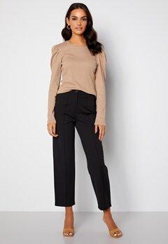 BUBBLEROOM Joanna soft suit pants Black bubbleroom.dk