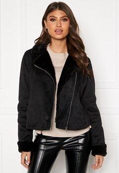 BUBBLEROOM Julia biker jacket Black Bubbleroom.dk