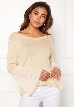 BUBBLEROOM Juliet knitted sweater Beige Bubbleroom.dk