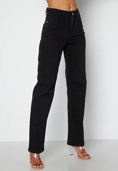 BUBBLEROOM June wide leg  jeans Black denim bubbleroom.dk