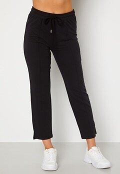 BUBBLEROOM Kehlani soft suit trousers  Black Bubbleroom.dk