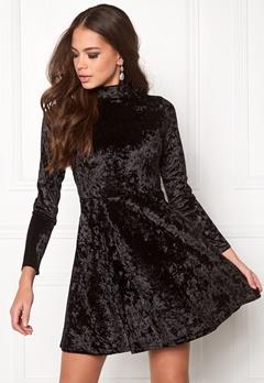 BUBBLEROOM Kenzie Velvet Dress Black Bubbleroom.dk