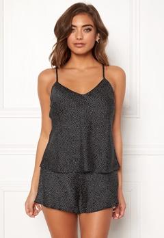 BUBBLEROOM Laila pyjama singlet Black / White / Dotted Bubbleroom.dk