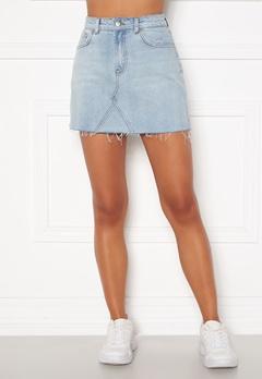 BUBBLEROOM Laney denim skirt Light denim Bubbleroom.dk