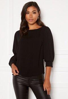 BUBBLEROOM Lavina blouse Black Bubbleroom.dk