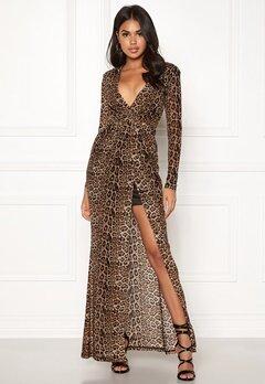 BUBBLEROOM Lene leo dress Leopard / Black Bubbleroom.dk