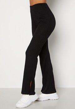 BUBBLEROOM Lesley rib trousers Black bubbleroom.dk