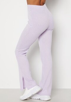 BUBBLEROOM Lesley rib trousers Light lilac bubbleroom.dk