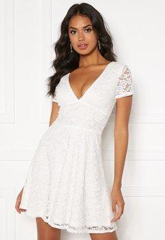 BUBBLEROOM Lexi lace dress White Bubbleroom.dk