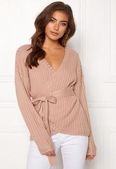 BUBBLEROOM Lillyanne knitted sweater Dusty pink Bubbleroom.dk