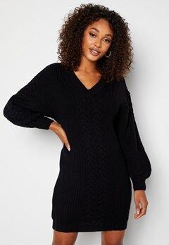 BUBBLEROOM Lisi knitted dress Black bubbleroom.dk