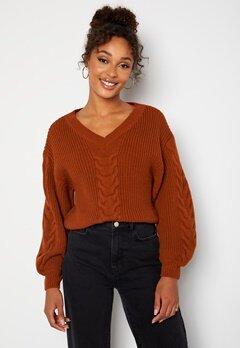 BUBBLEROOM Lisi knitted sweater Rust bubbleroom.dk