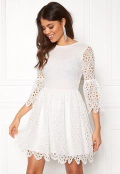 BUBBLEROOM Litzy Dress White Bubbleroom.dk