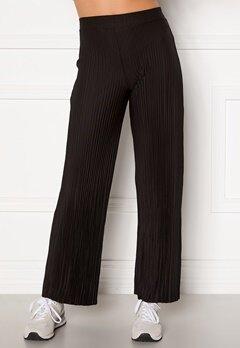 BUBBLEROOM Lola pleated trousers Black Bubbleroom.dk